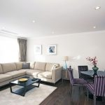 402 - two bedroom - executive - living - dinning room