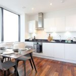 3-kitchen-with-dining-table-Harrow-serviced-apartments