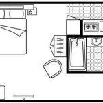 citadines-toison-dor-brussels-studio-floor-plan