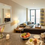 PREMIER-SUITES-Manchester-two-bedroom-kitchen-and-living-area
